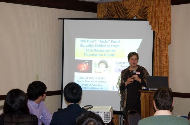 Valerie our Speaker